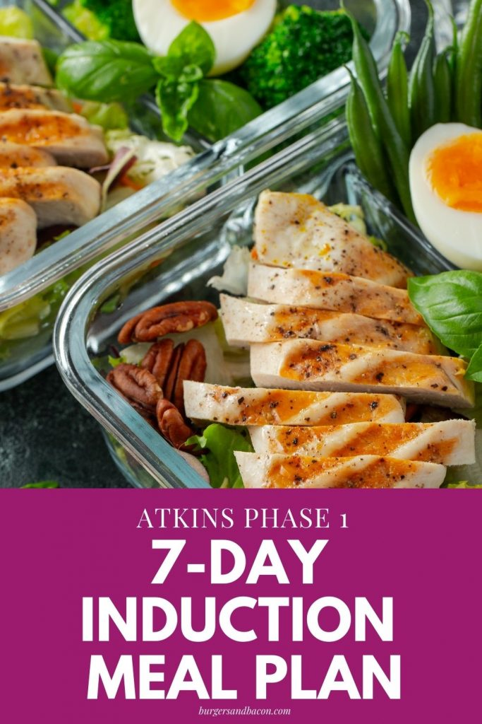 Starting the Atkins diet can be hard, especially when you're trying to figure out what to eat. This is the best 7-day Atkins induction diet meal plan to follow.