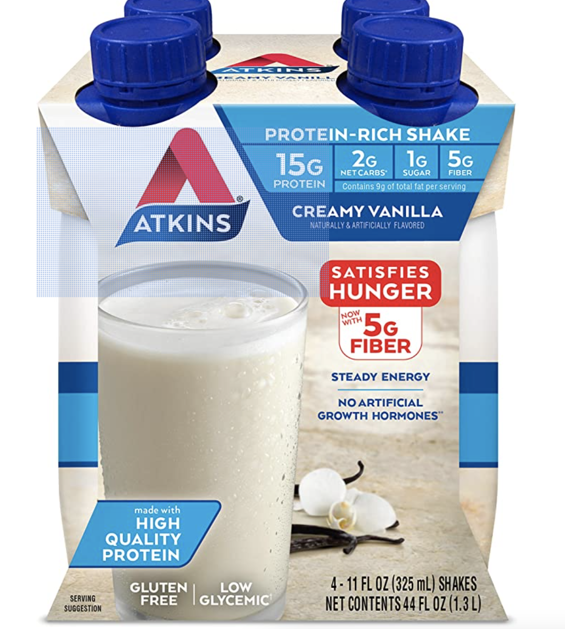 Atkins Creamy Vanilla Protein Shake