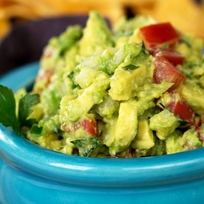 Looking for a quick and easy snack while on the Atkins diet program? This Avocado Salsa or guacamole is the best thing you put in your mouth in a long time. Avocado salsa is only 3.3 net carbs.