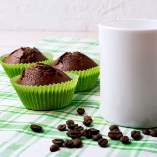 This low-carb death by chocolate muffin is perfect for those times when your sweet tooth is running amuck. This low-carb chocolate muffin recipe is easy to make and very delicious.