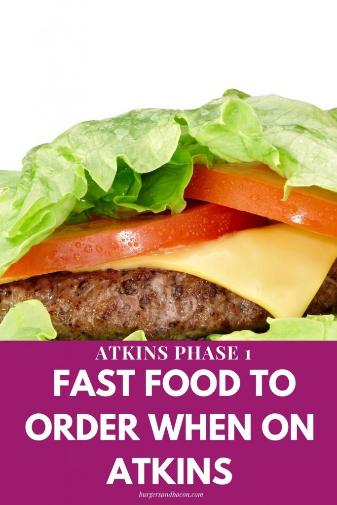 At times it seems you need to be a detective when you're looking for fast food low carb options. Finding low carb options to eat while at a fast food restaurant